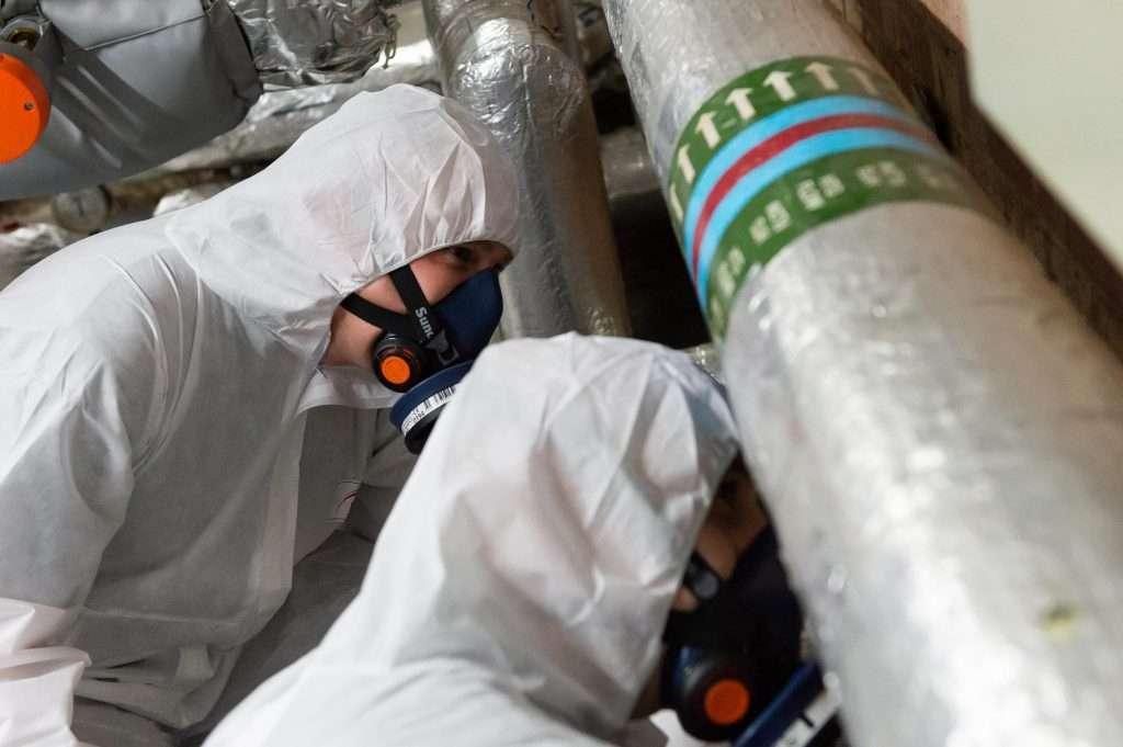 Asbestos refurbishment survey 1