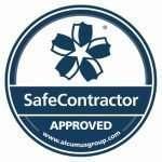 SafeContractor Accreditation Sticker B