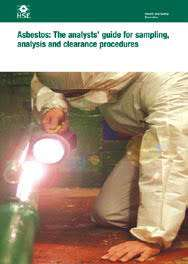 HSG 248 Asbestos: The analysts' guide for sampling, analysis and clearance procedures
